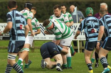 John goes low to stop Omagh