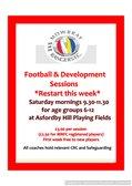 Soccer School Restart