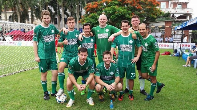 Murray's FC at the Gulangyu Cup: Plate Runner's Up