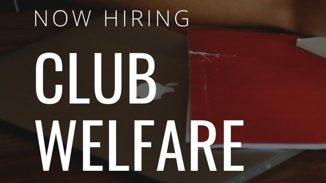 Volunteering Opportunity - Club Welfare Officer
