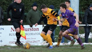 DRFC at Willand Rovers- Feb 2nd 2019 - FA Vase5th Rnd