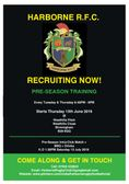 Pre-Season Training Starts Thursday 13 June @ Westhills