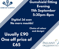 Gumshield fitting at GSAM takeover