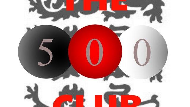 500 CLUB LOTTERY WINNERS - APRIL