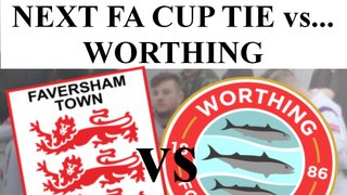 FA CUP - IT'S WORTHING!