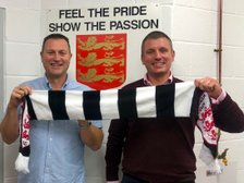 DANNY AND PHIL UNVEILED AS NEW MANAGERS