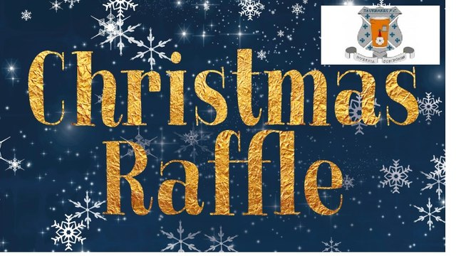 Taverners FC Christmas Raffle this Saturday Night! (16th Dec)