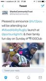 Inner warrior and mixed ability rugby family day at the club.