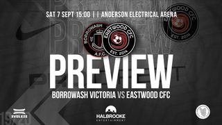 Borrowash Victoria vs Eastwood CFC