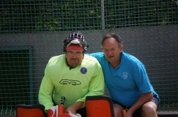 John Hinkley and Nigel Kellet 'Digger'
