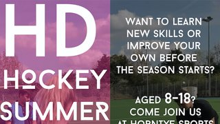 BOOK NOW! - HD Hockey Camp at Horntye Park