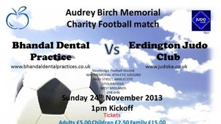 BHANDALS CHARITY GAME - 24TH NOV