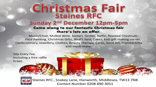 Christmas Fair this Sunday 2nd December