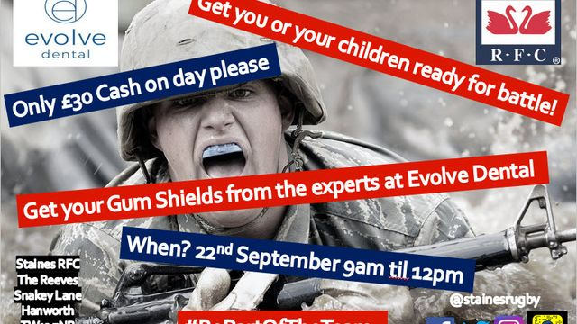 Gum Shields and the World cup Sunday 22nd September
