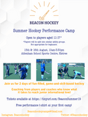 Beacon Hockey - Summer Performance Camps