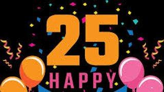 Barling 25th Birthday
