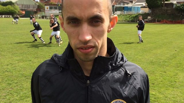 4 Goals for top marksman Kerrim 'Kez' Calliste