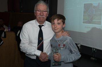 U11's Winner - Joseph Angus
