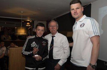 U14's Winner - Scott Brown