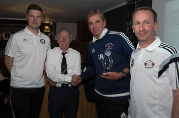 Coach of the Year Winner - Clive Rushton