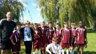 Clarets U12's win first tournament of the Season