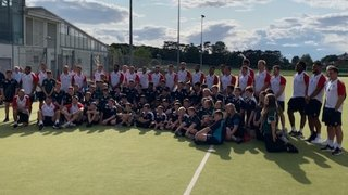 Clifton Juniors get to meet England's final squad