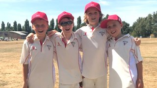 Bristol CC U10's selected for county festival