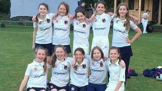Bristol CC U13 Girls victorious in first hard ball match !