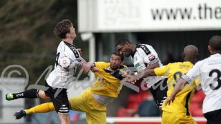 Eastbourne Borough FC(0) VS Dover Athletic FC(0) 22/03/2014