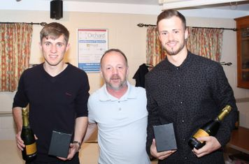 Sam Boulton and Harvey Rivers - Player's Player's of teh Year