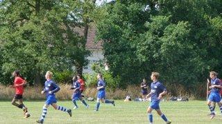 Under 18s v Hanworth Villa 10/08/2013