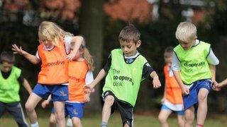 4-6 Year Olds CB Little Kickers Soccer School