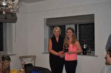 Managers Player of the Year Hannah Nicholl