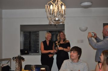 Most Improved Player of the Year Clare Gorse