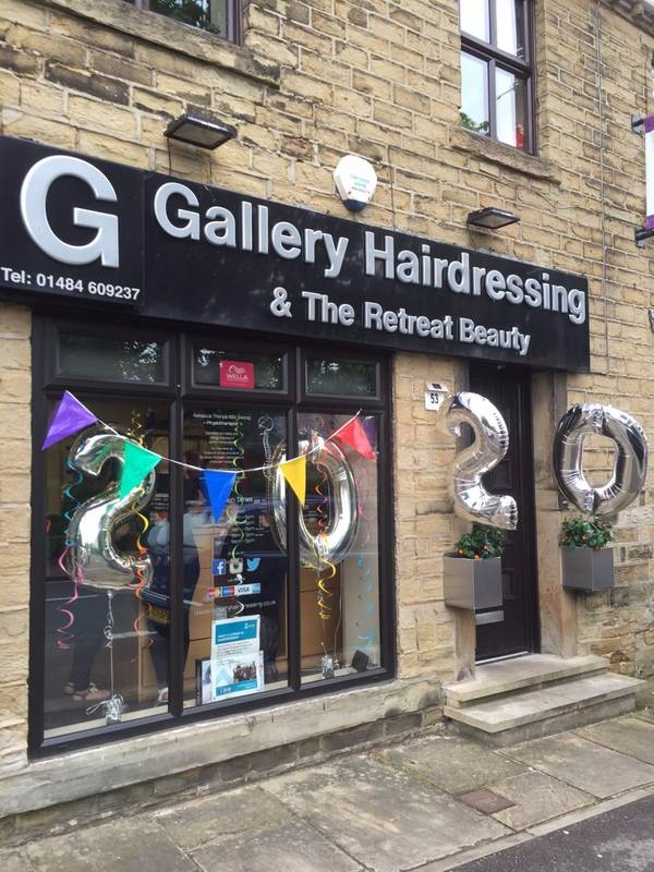 Gallery Hairdressing of Kirkburton 2oth Anniversary