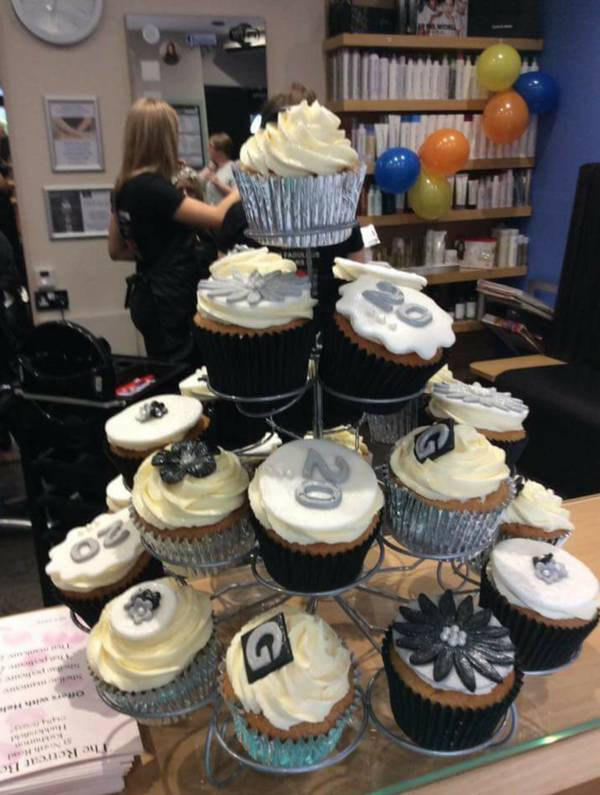 Ann & Paul Gallery Hairdressing's 20th year