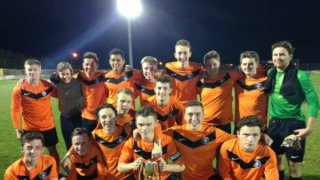 HAFC Under 18 League and Cup Double Winners 2013/14