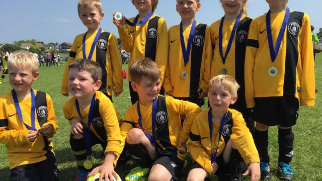 HAFC Youth teams narrowly miss out at the Springfield Tournament 2016