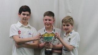 Under 12s win indoor league