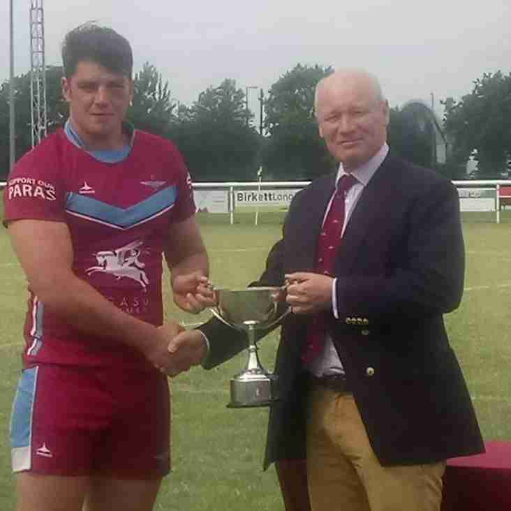 The Parachute Regiment win the Trafalgar Cup