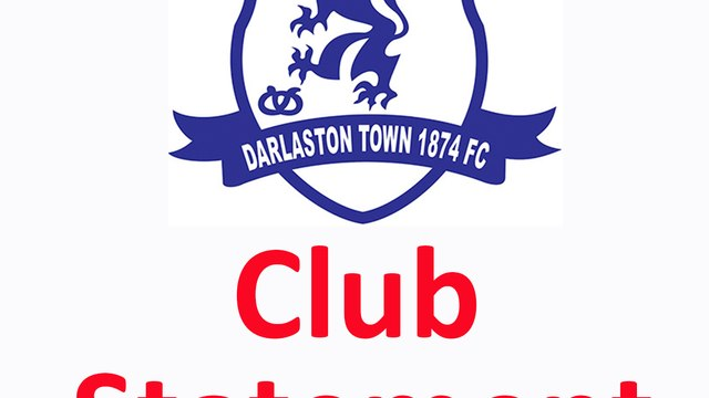Darlaston Town are delighted to announce their new manager.