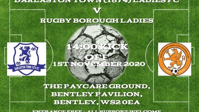 Darlo Ladies return to action this Sunday at the Paycare Ground