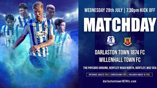 A change of opponents for Wednesday's penultimate pre-season fixture