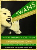 The Swans play hosts to Huntingdon Town at Willen Road....
