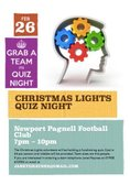 Quiz at NPTFC Club House - Feb 26th.