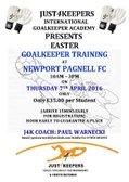Just4Keepers International Goalkeeper Academy Presents...