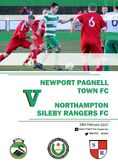 The Match Day Programme vs Northampton Sileby Rangers is available to view...
