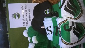 End of season sale. 20% off NPTFC merchandise (does not include members 10% discount as well).