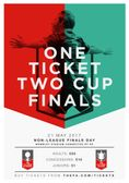 The FA Non-League Finals Day on 21st May.  Are you interesting in Joining us?