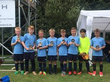 Under 10s Jaguars were runners up in at the Celtic Priory FC, Nottingham Tournament!